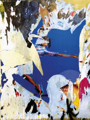 """""""Danseuse"""" (série Dans ma rue), photographie, impression numérique sur toile libre, 50x70 cm"""