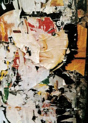 """""""Pop Visage"""" (série Dans ma rue), photographie, impression numérique sur toile  libre, 70x100 cm"""